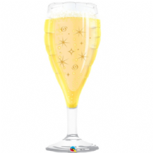 Champagne Glass Large Foil Balloon 1pc